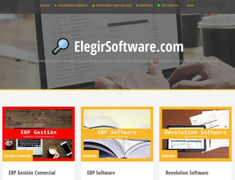 elegir software