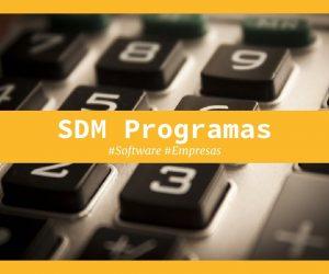 sdm programas