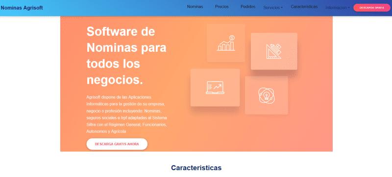 web de agrisoft informatica