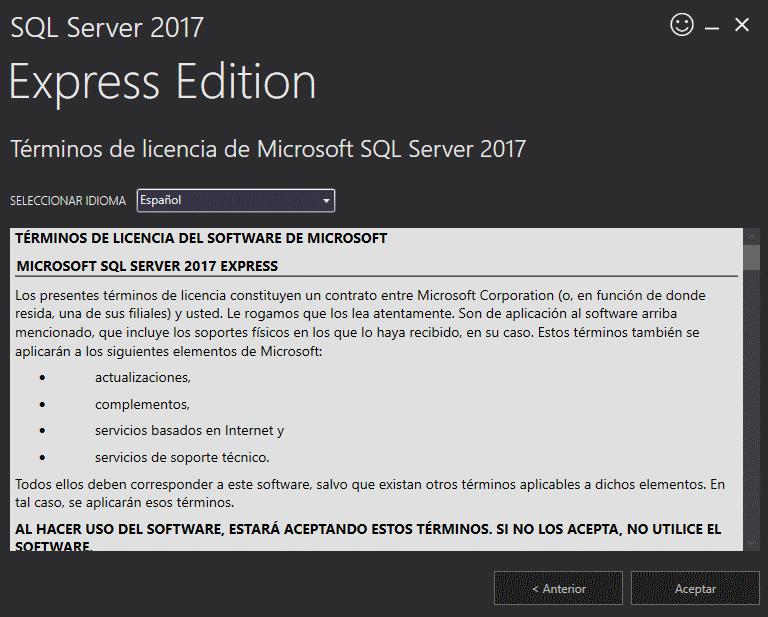 términos de licencia de microsoft