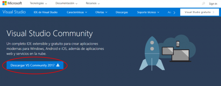 Descargar Visual Studio Community gratis