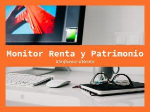 monitor renta y patrimonio
